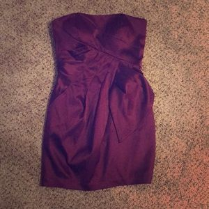 Super cute strapless bcbg dress!